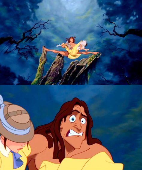 The facial expressions in Tarzan are amazing especially this one