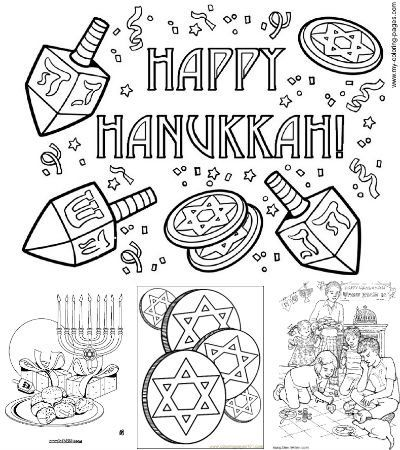 Hanukkah Printable Coloring Pages Printable Coloring Pages Hanukkah Crafts Hanukkah