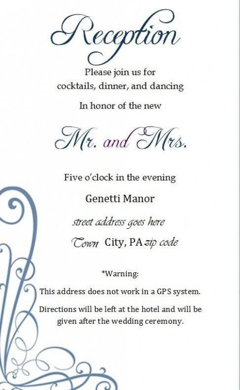 Five Great Invitation Card Format Simple Ideas That You Can Share With Reception Invitation Wording Wedding Reception Invitation Wording Reception Invitations
