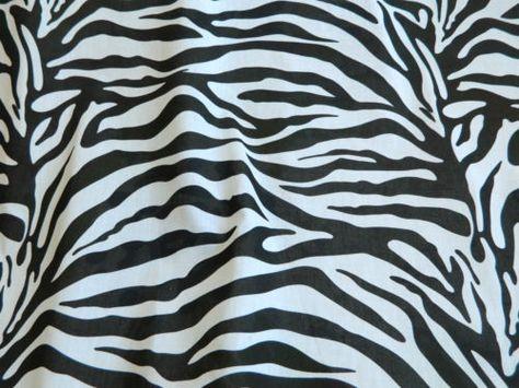 Animal-Print-Polycotton-Fabric-Leopard-Cow-Tiger-Zebra-Per-Meter 431c632be