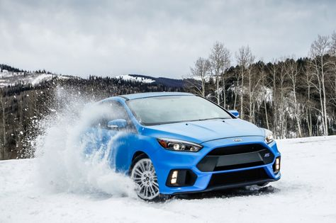 Excited For The Cold Weather Fordfocusrs Focus Ford Drift Snowdrift Driftking Ford Focus Ford Focus Rs Focus Rs