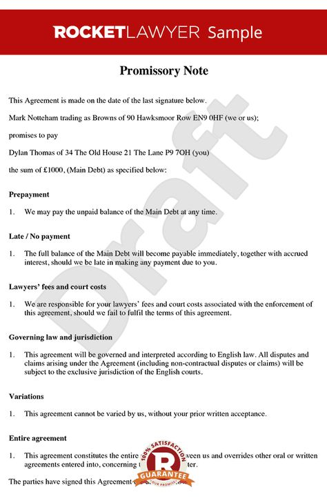 Promissory Note - Free Promissory Note Template Gerlie - promissory notes