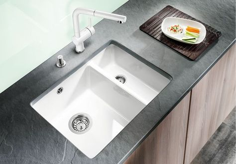 Blanco Subline 350 150 U Ceramic Undermount 1 5 Sink Mit Bildern