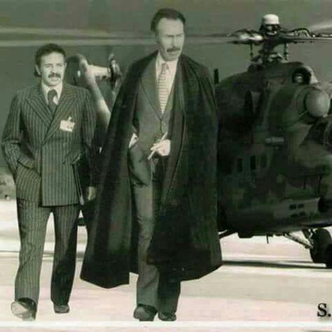 Le Président HOUARI BOUMEDIENE  et Bouteflika