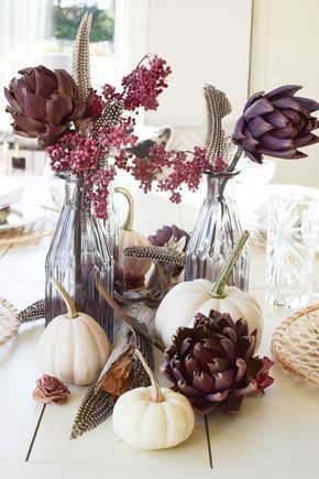 Mrs Greenery Autumn Table Fall Table Decor Table Decorations
