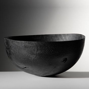 burnt wood bowl...