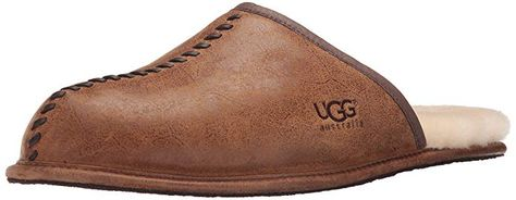 ab40fc03971 UGG Men's Deco Scuff Slipper Review   Men Slippers   Uggs, Shoes ...