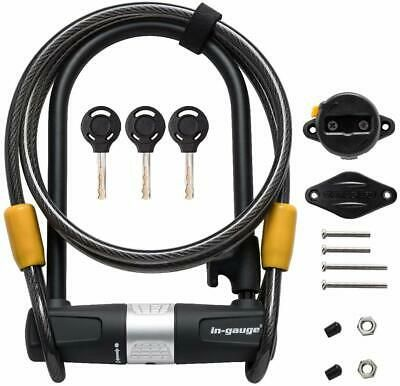 Sponsored Ebay In Gauge Bike U Lock With Cable Heavy Duty Bicycle