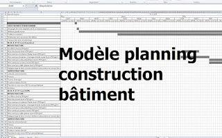 Exemple De Modele Planning Travaux Construction Batiment Excel Planning Chantier Gratuit Planning De Chantier Excel Changing Jobs How To Plan Resume Words