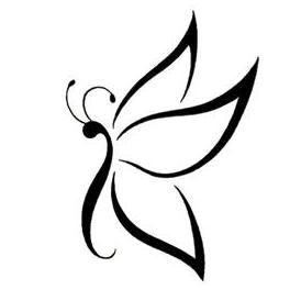 Pin By Sharon Brophy On Dekor In 2021 Printable Tattoos Butterfly Tattoo Stencil Picture Tattoos