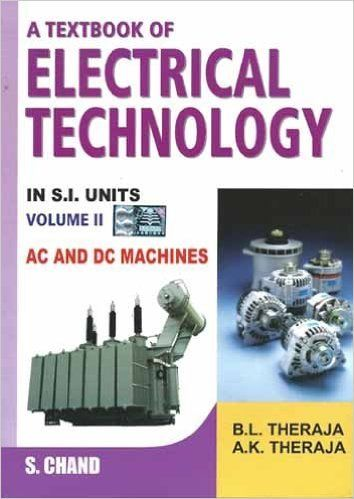 Electrical Technology by BL Theraja | ELECTRICAL & ELECTRONICS