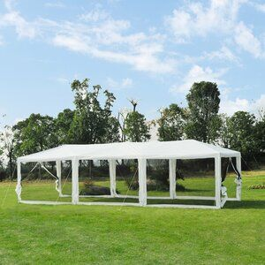 10 Ft W X 8 Ft D Fabric Retractable Standard Patio Awning Patio Shade Pop Up Canopy Tent Patio Gazebo