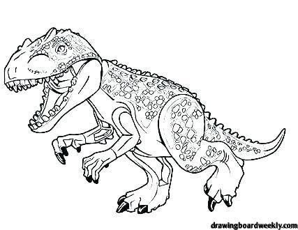T Rex Coloring Page In 2020 Coloring Pages Lego Coloring Pages Lego Jurassic World