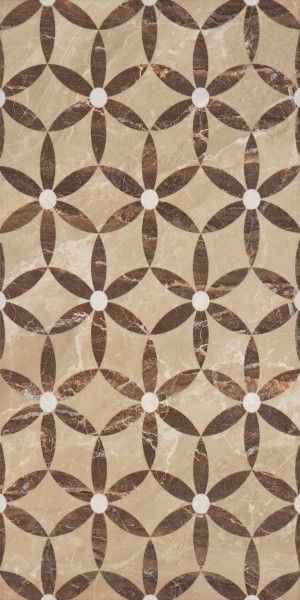 Vesubio Flower Beige Glazed Interceramic Usa Ceramic 10x20 Natural Stone Tile Beige Mosaic