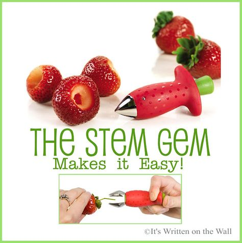 The best tool you'll ever have for stemming a Strawberry!