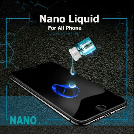 The Nano Liquid Screen Protector will also improve your phone screen resistance to grease, water, and fingerprints. This will work on any phone to ensure the protection of the screen. You can also use it on glasses, computer, watch, anything which you need a screen protective film.  Get it today!