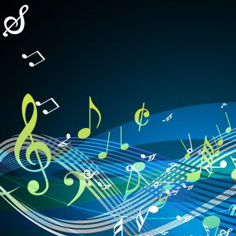 Fondos oscuros con diseños de notas musicales en varios colores | Notas  musicales, Imagenes de notas musicales, Musicales