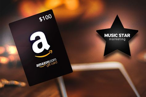 100 Amazon Gift Card By Music Star Marketing Hosted By Kingsumo