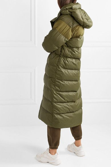 971674600 Nike - Hooded quilted shell down coat in 2019 | 2019 everywhere i go ...