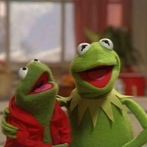 Pin On Kermit Christmas Winter Muppets