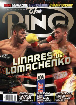 Jorge Linares Vasyl Lomachenko Garden Of Lightweight Delights The Ring Best Face Products Linares Past