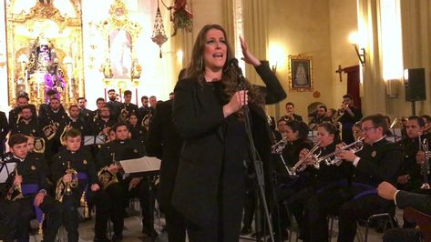 Argentina Banda Nazareno De Huelva En Sevilla La Saeta Para Cristo Sevilla Nazarenos Banda
