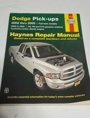 Advertisement Ebay Ram Truck Service Repair Shop Manual Cummins Gas V10 V8 V6 2005 2004 2003 2002 In 2020 Cummins Repair Manuals Repair