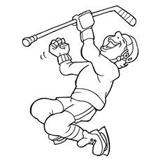 10 Best Hockey Coloring Pages Your Toddler Will Love To Color Coloring Pages Hockey Crafts Funny Hockey Memes