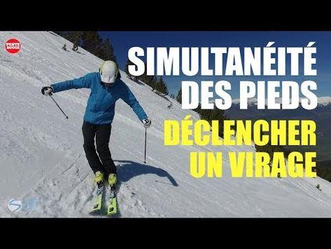 Ski Comment Faire Travailler Les Pieds De Maniere Simultanee