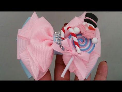 Hand Embroidery Amazing trick : moño de liston /moño elegante /bows simple - YouTube