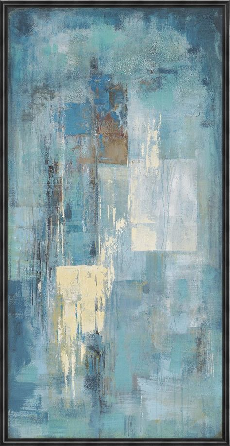 Why We Love It Muted blue tones are simply serene in this lovely oil painting. More Information Dimensions : x x Material 1 : Oil Painting Material 2 : Canvas Material 3 :Stretcher Bar Assembly Required : N Finish : Oil 1 Year Warranty