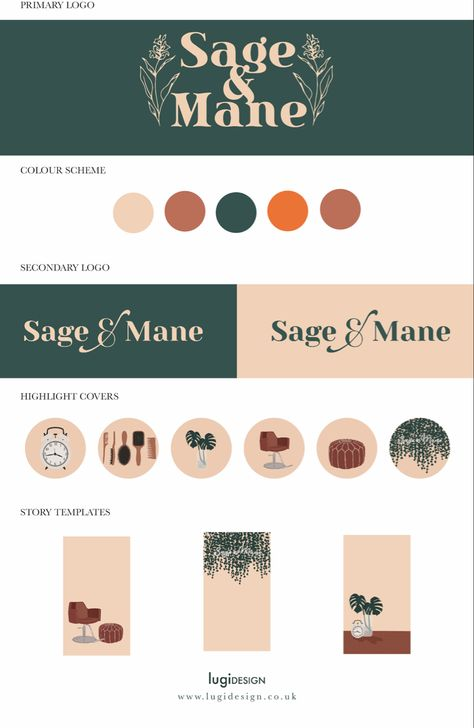 Natural Branding Style Guide by Lugi Design