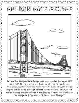 Coloring Festival Golden Gate Coloring Pages More Than 52