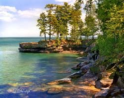 Bay State Park Campground On Madeline Island