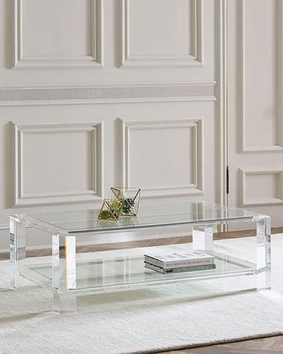 Lucite Coffee Table Styling Acrylic Coffee Table Coffee Table