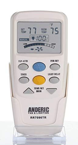 Anderic Replacement For Hampton Bay Chq7096t With Reverse Key Thermostatic Remote Control For Hampton Bay Ceili Hampton Bay Ceiling Fan Ceiling Fan Hampton Bay