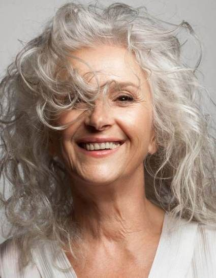 Super Hair Gray Natural Aging Gracefully 60 Ideas Curly Hair Styles Long Gray Hair Silver Hair
