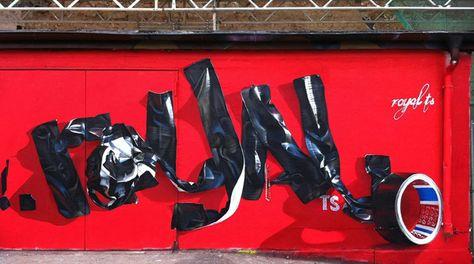 Royal TS – moderne urbane Kunst als Wandgestaltung | Superflu -