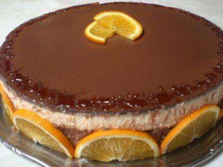Entremet Chocolat Orange Cointreau Recette Ptitchef Recette Chocolat Orange Entremet Chocolat Alimentation