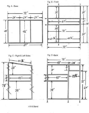 Trophy Deer Stand Plans 4x6 … More | Hunting | Deer stand plans