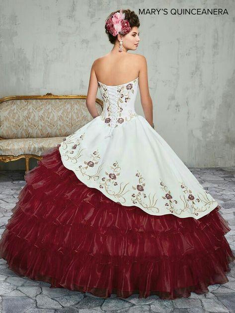 Xv Años En 2019 Vestidos De Quinceañera Mexicana Vestidos