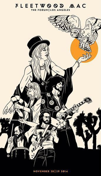 Fleetwood Mac Concert Metal Tin Sign Poster Wall P Album Covers, Vintage Music, Concert Posters, Album Art, Poster, Gig Posters, Poster Prints, Poster Wall, Vintage Music Posters