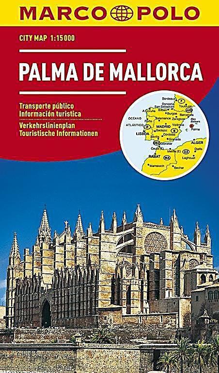 Marco Polo Citymap Palma De Mallorca Palma Majorca Palma De