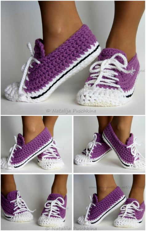 Our Most Favorite Crochet Slippers Pattern Ideas | The WHOot