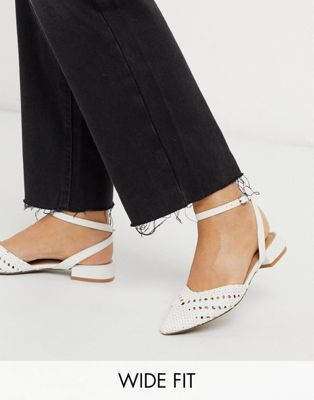 ASOS DESIGN Wide Fit Location woven