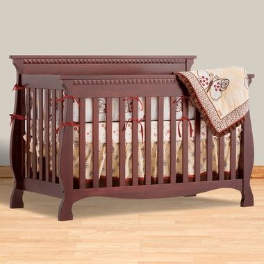 239 00 Storkcraft Cherry Venetian 4 In 1 Fixed Side Convertible Crib Free Shipping