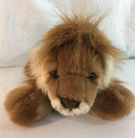 Aurora Leonardus Lion Flopsie Plush Stuffed Animal 12