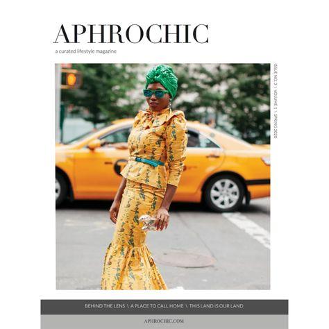 aphrochic magazine issue 3 cover