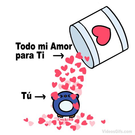 Todo mi Amor para Ti | VideosGifs