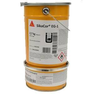 Sikacor Eg 1 Resine Epoxy Fer Micace Polyurethane Sika Resine Epoxy Epoxy Acier Galvanise